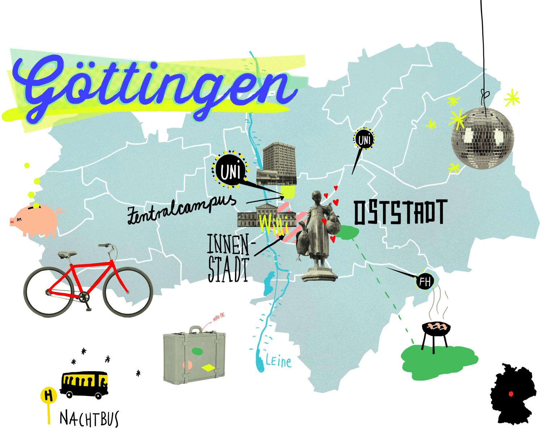 Studium So Lebt Es Sich In Der Uni Stadt Göttingen