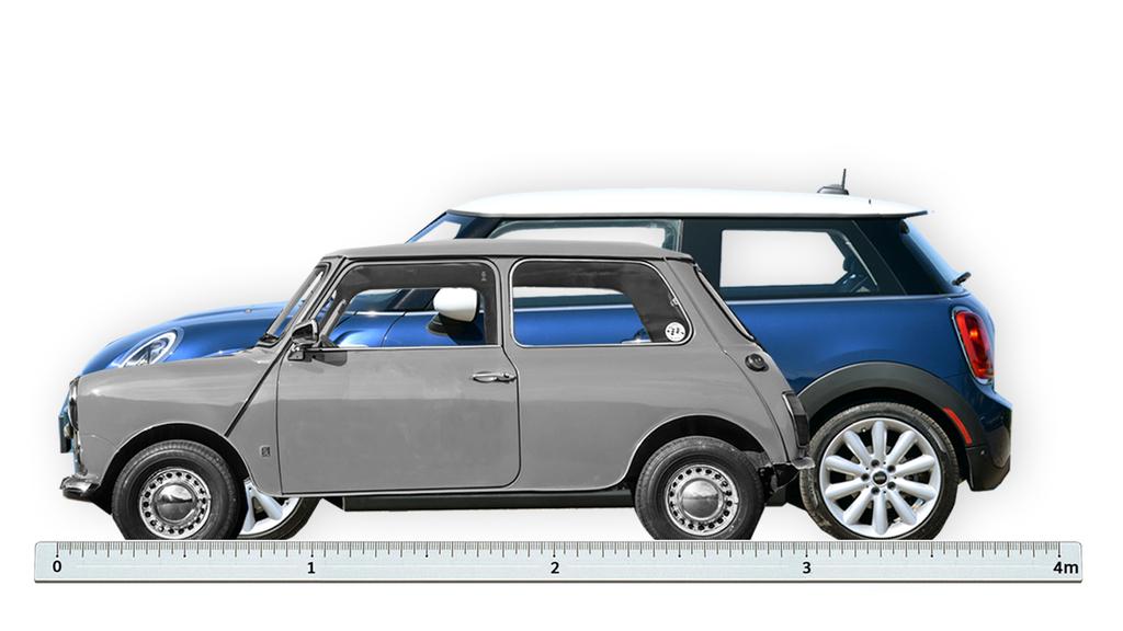 Design Mini 1959 Und 2016 Auto Mobil Suddeutsche De