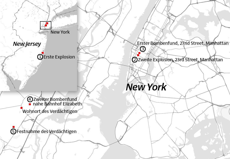 Was Genau In New York Und New Jersey Passiert Ist Politik