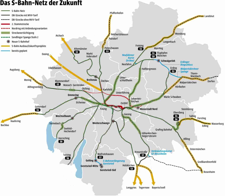 S Bahn Karte München.München So Soll Die S Bahn Im Jahr 2050 Fahren München