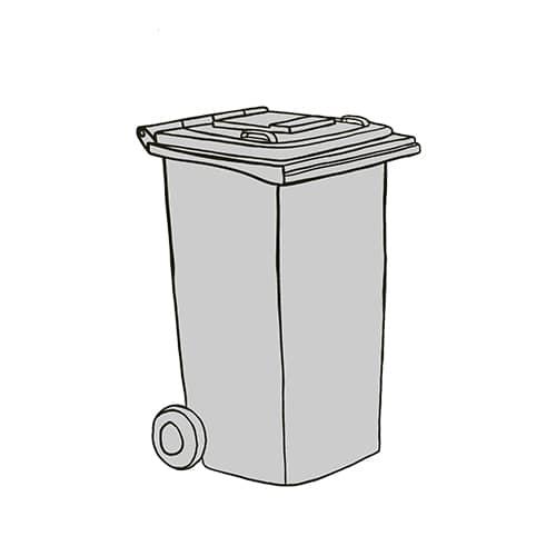 Kompostierbares Plastik