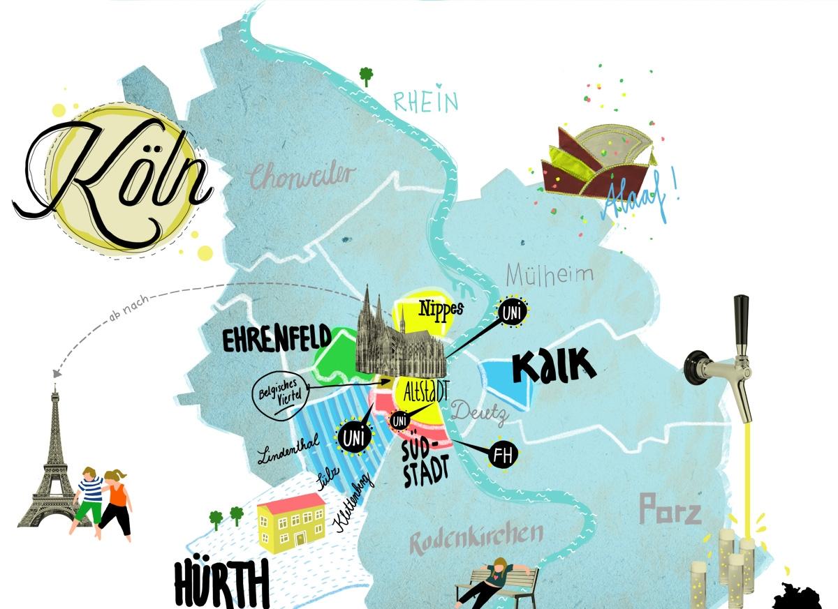 Studium So Lebt Es Sich In Der Uni Stadt Köln Bildung