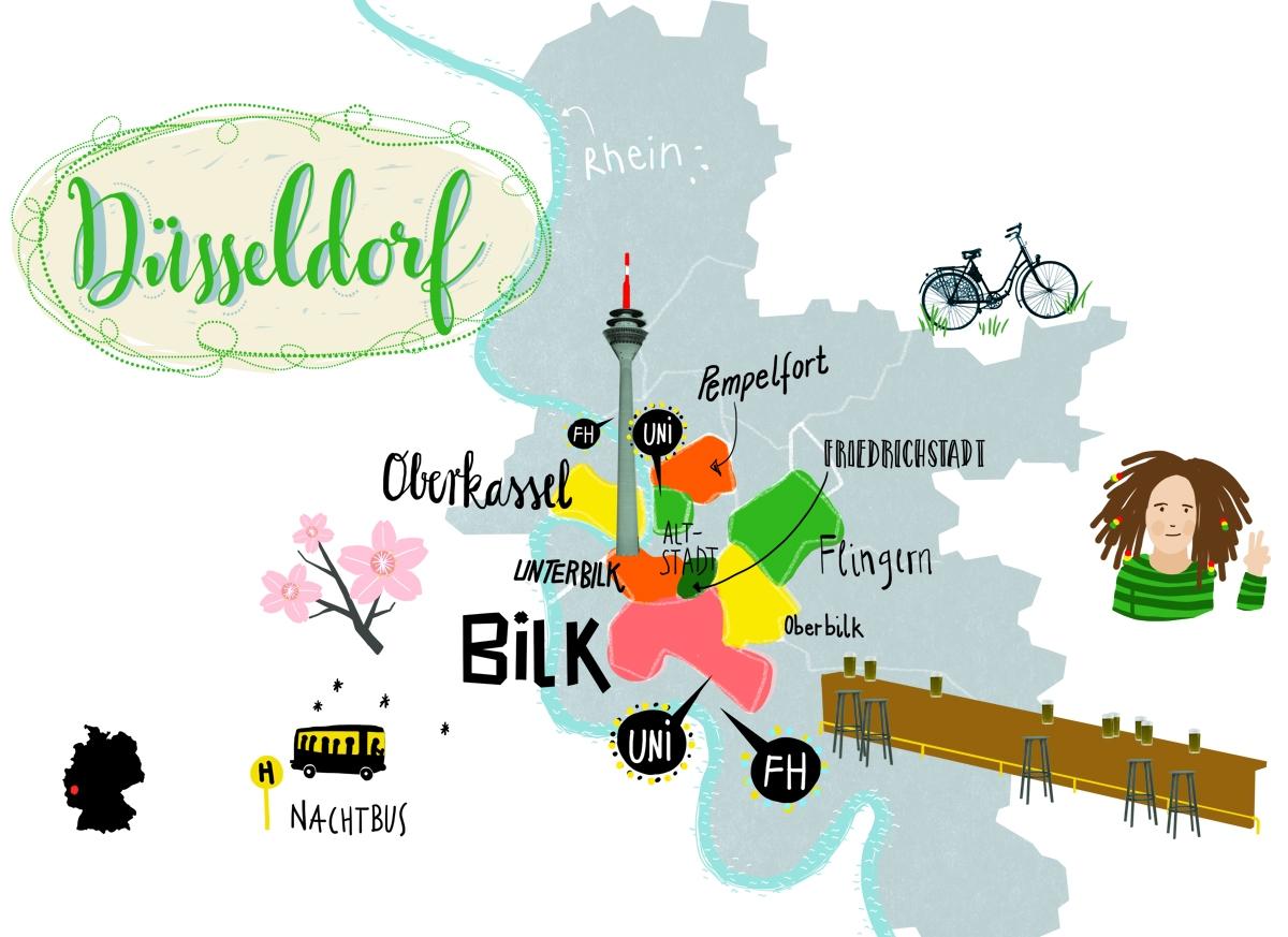 studium so lebt es sich in der uni stadt dsseldorf bildung sddeutschede - Dusseldorf Uni Bewerbung